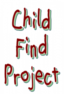 Child Find Project