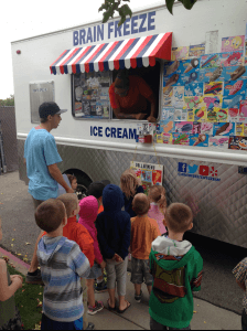 Ice Cream Truck at the Discoveries Preschool and Childcare